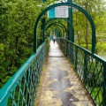Suspension Bridge Over The River Tummel, Pitlochry