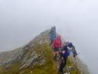 Ridge leading  to Summit, Ben Stack